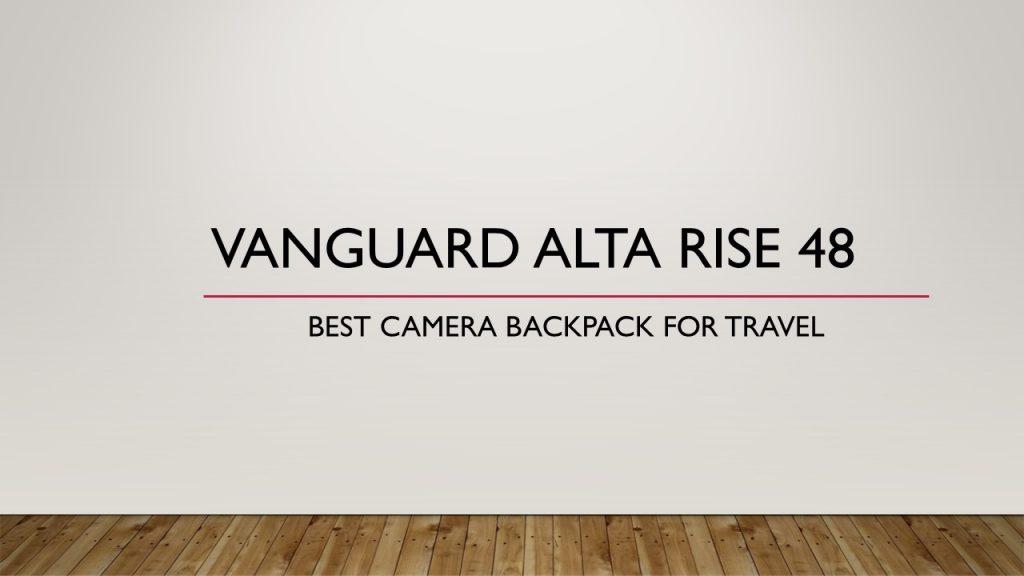 Vanguard Alta Rise 48