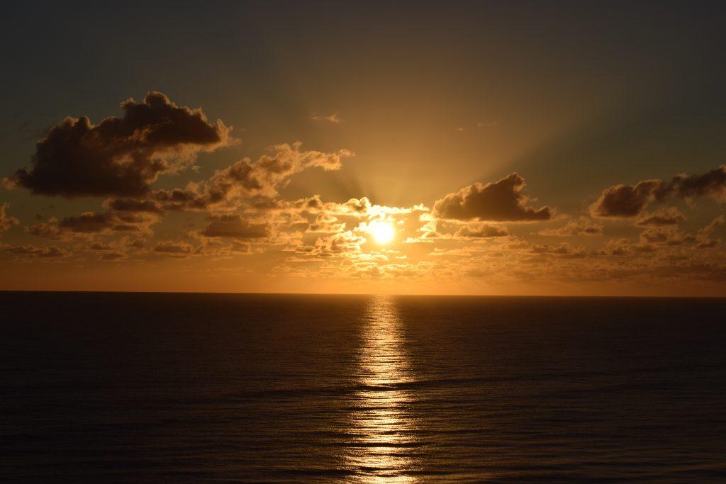 Sunrise on Hutchinson Island